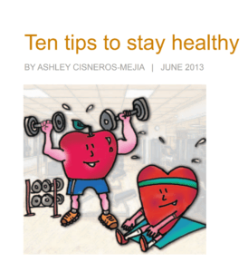 10 Tips to Stay Healthy - Mass Mutual
